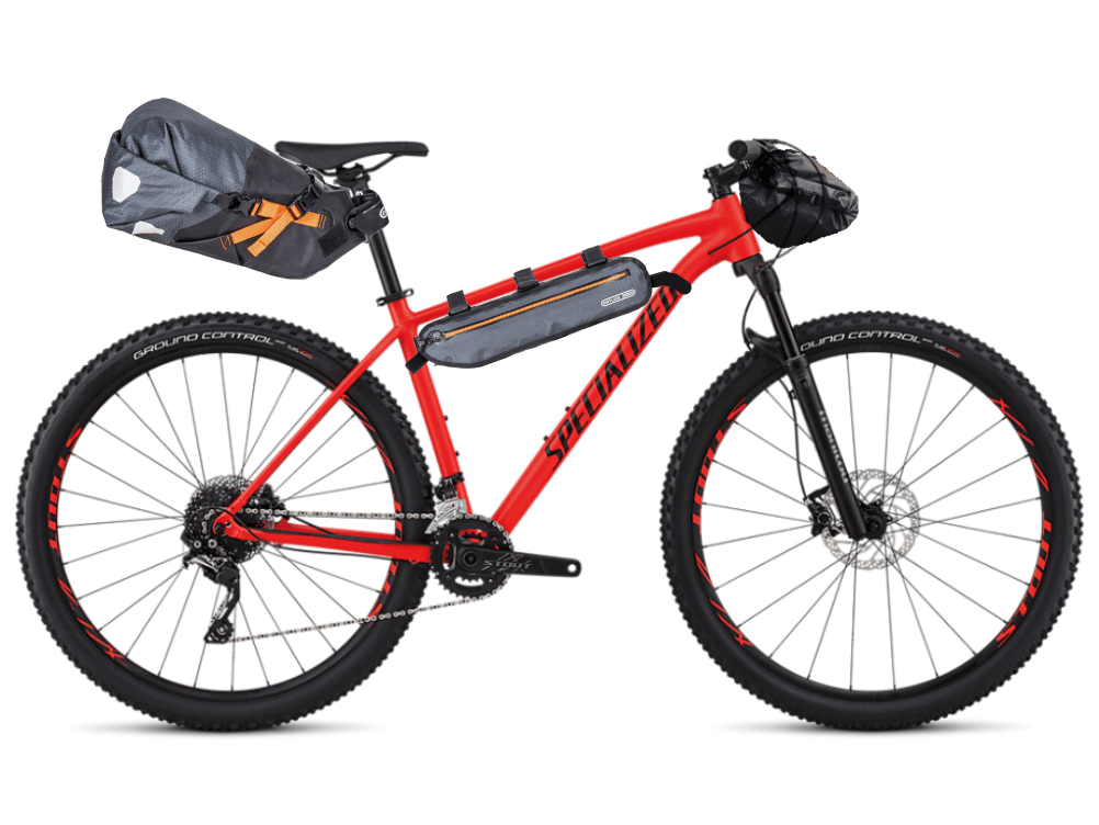 Specialized Rockhopper versione bikepacking in Sicilia - Ciclabili Siciliane