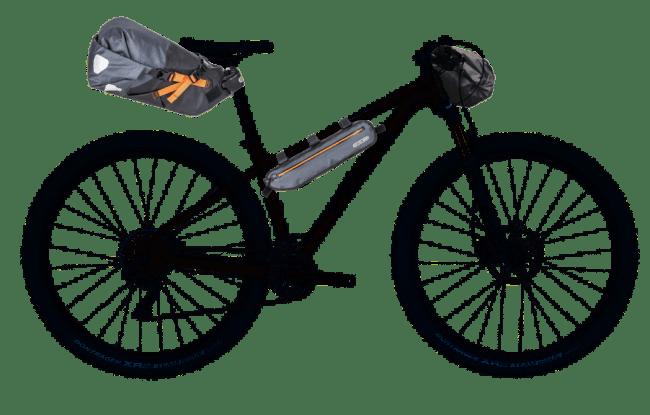 Trek Xcaliber 9 - Bikepacking Ortlieb