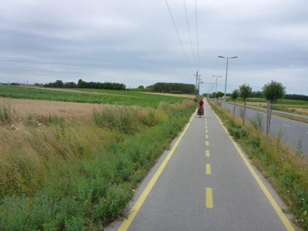da vienna a bratislava in bici sulla Eurovelo 6