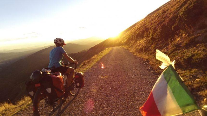 Self-guided biking tours