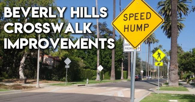 Beverly Hills Raised Crosswalk