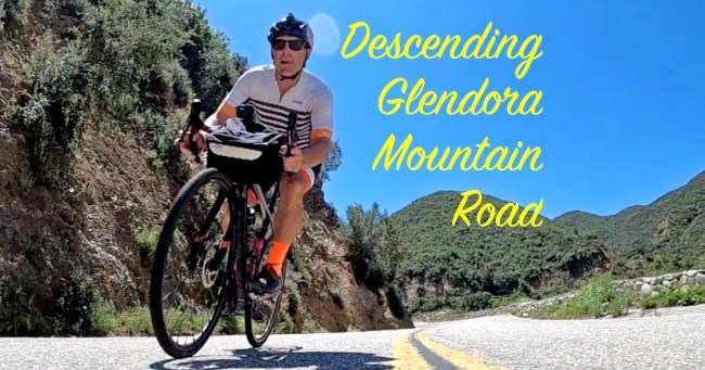 descending glendora mountain road