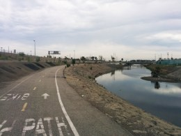 The Dominguez Bikeway would have taken you close to the Carson site