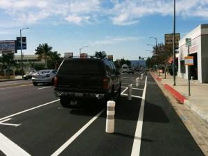 Protected Bike Lanes on Reseda