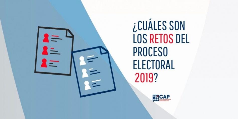 Retos en el proceso electoral