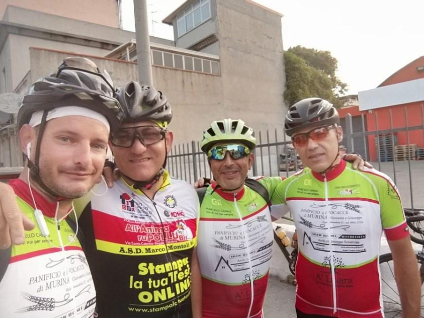 Conad Catona partenza del giro della provincia di Reggio Calabria