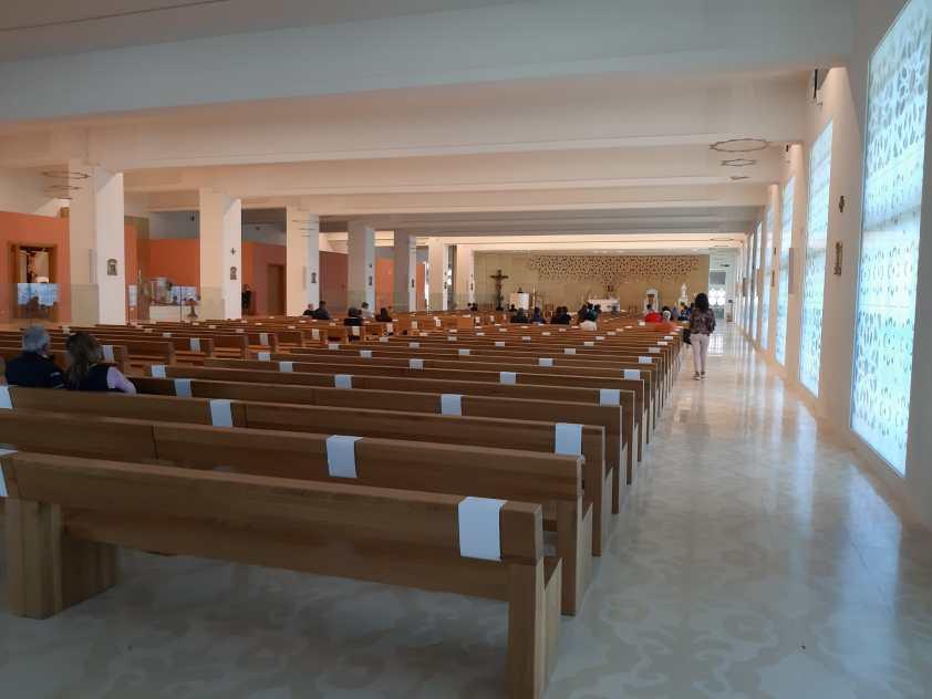 Santuario Madonna dello Scoglio la chiesa