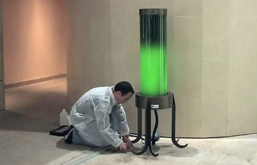 Lâmpada ecológica não usa energia elétrica e ainda limpa poluição do ar