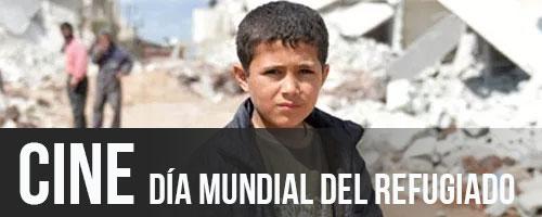 20JUN · PATIO DEL CICUS · DÍA MUNDIAL DE LAS PERSONAS REFUGIADAS · NACIDO EN SIRIA