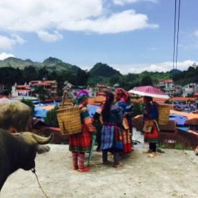Mercado de Bac Ha (Vietnam).