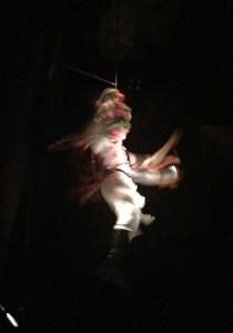 Mázcara danzante en Santa Leonor