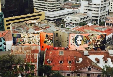Vista dende os miradoiros de Cerro Concepción