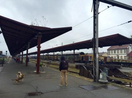 Plataformas da Estación sen actividade