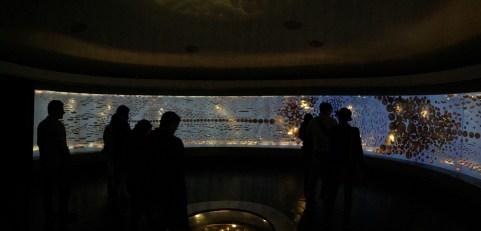 Sala principal do Museo del Oro