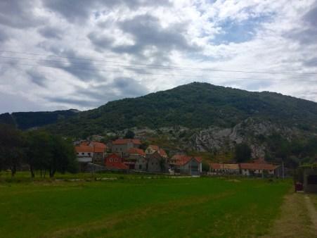 Aldea de Njeguši, berce da realeza montenegrina
