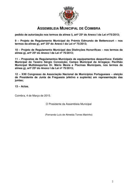 Reunião Ordinária da Assembleia Municipal 12-03-2015-page-002