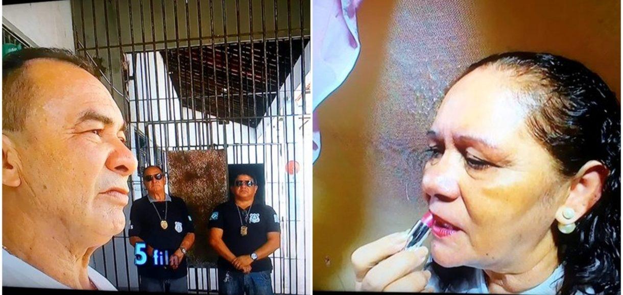TV Record mostra romance de casal de 'detentos' no Piauí. Veja!