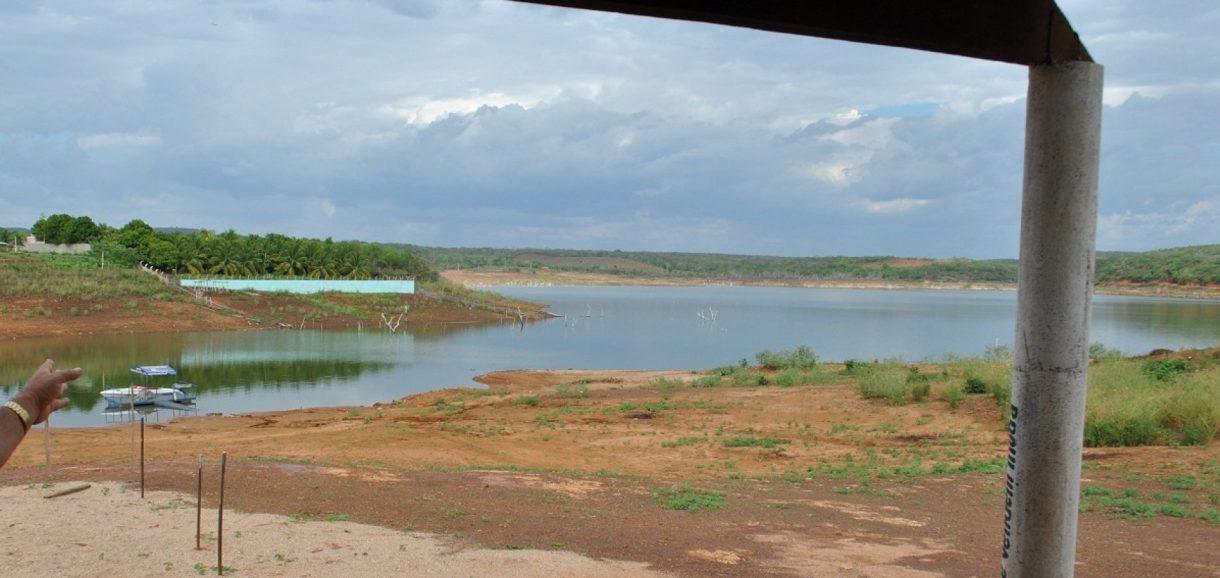 Sem boas chuvas, Barragem de Bocaina pode secar em 2017