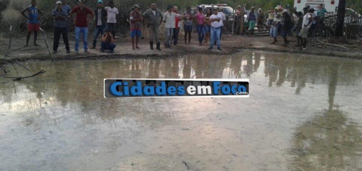 Homem morre afogado em barreiro no interior do Piauí