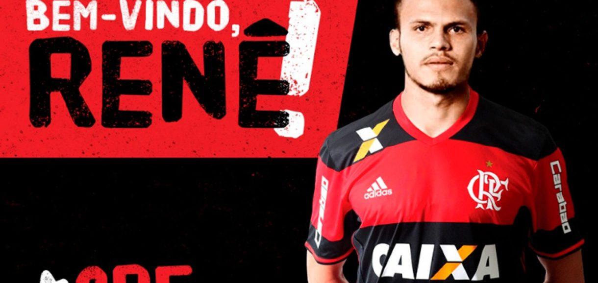 Agora é oficial: Renê é mais um picoense no Flamengo