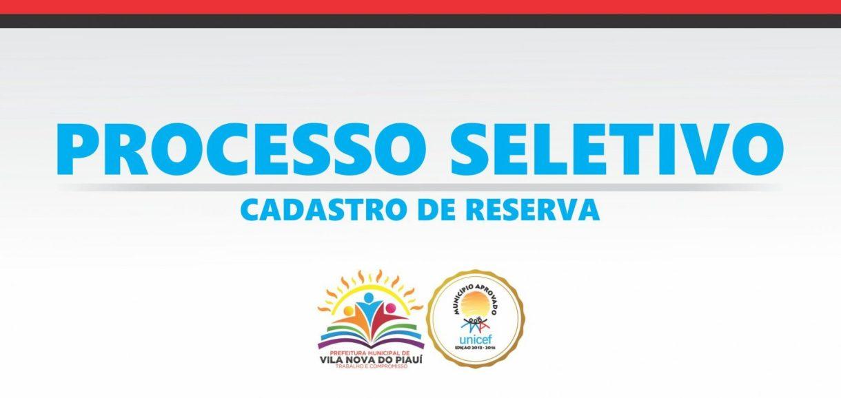 Prefeitura de Vila Nova divulga resultado preliminar do Teste Seletivo 2017; veja!