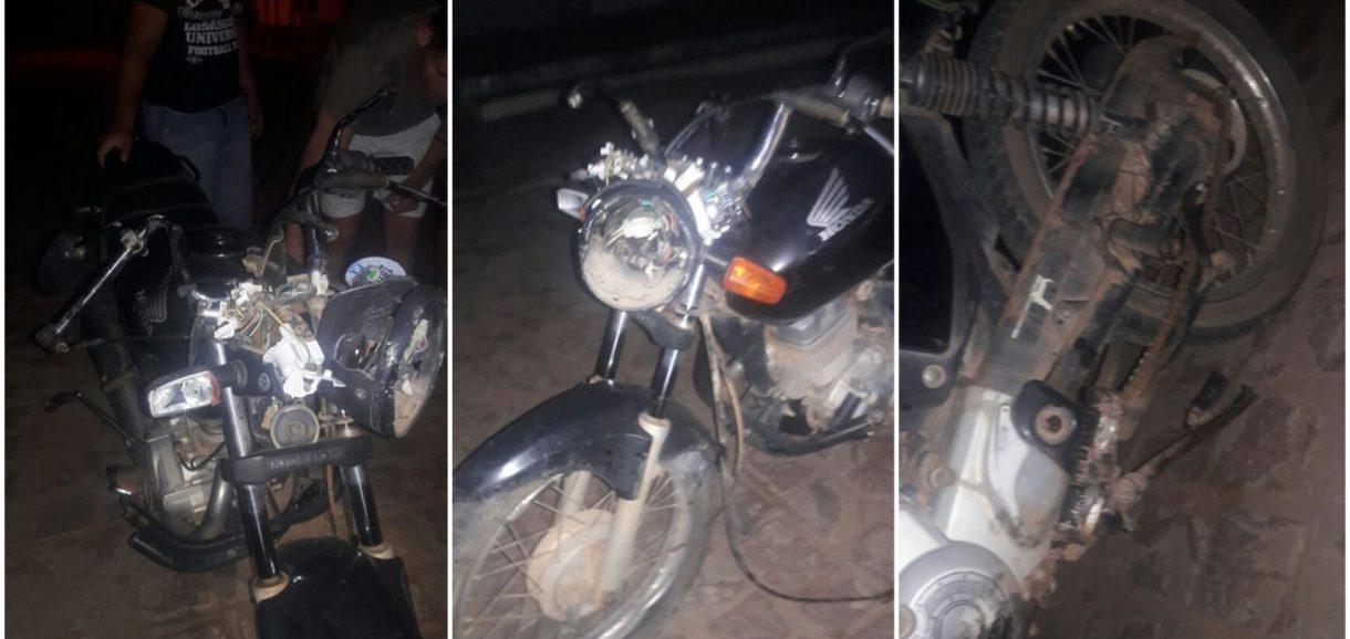 Homem fica gravemente ferido após acidente com motocicleta na BR 316 em Alegrete do Piauí