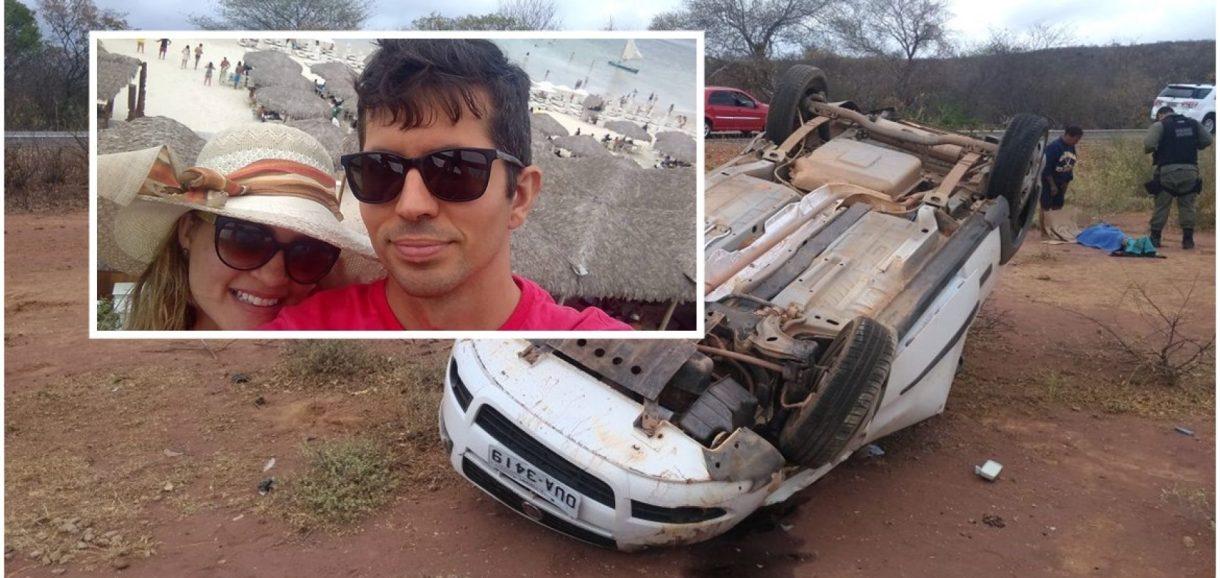 Acidente deixa jornalista e servidor da Sefaz feridos no sul do Piauí