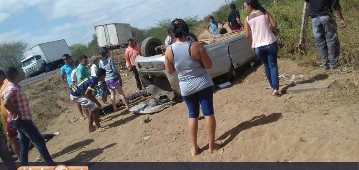 Alagoinhense morre e mais dois envolvidos seguem internados em estado grave após acidente na BR 316