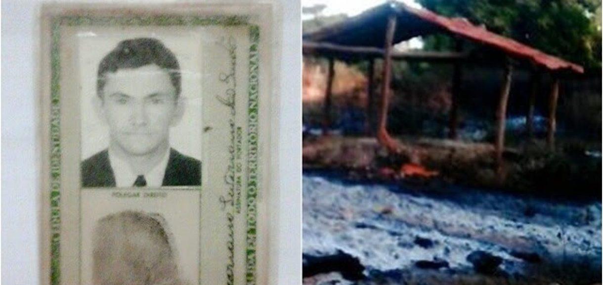 Idoso morre carbonizado ao atear fogo para limpar matagal em município do Piauí