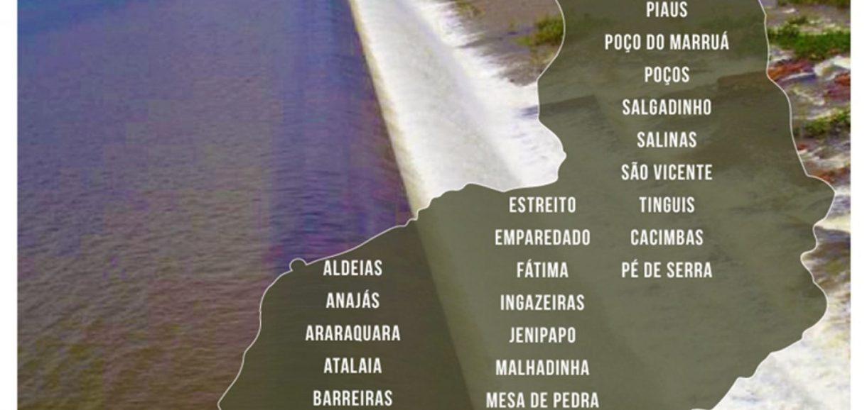 Relatório aponta que 31 barragens no Piauí apresentam alto risco de rompimento