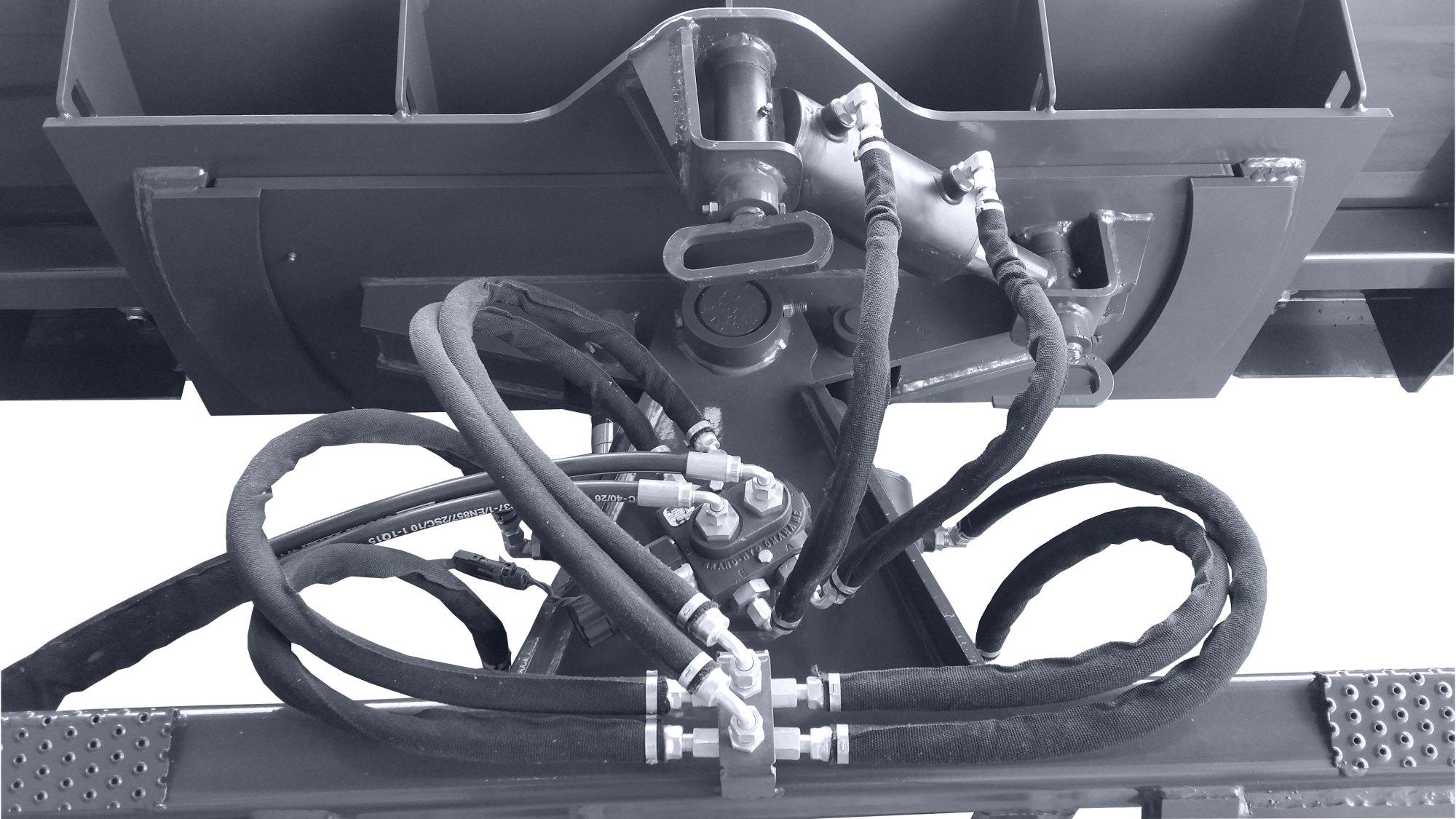 hight resolution of 6 way dozer blade back view