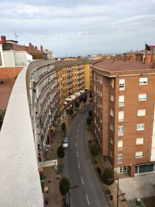 My rooftop view overlooking Asturias where I produced this episode. :)
