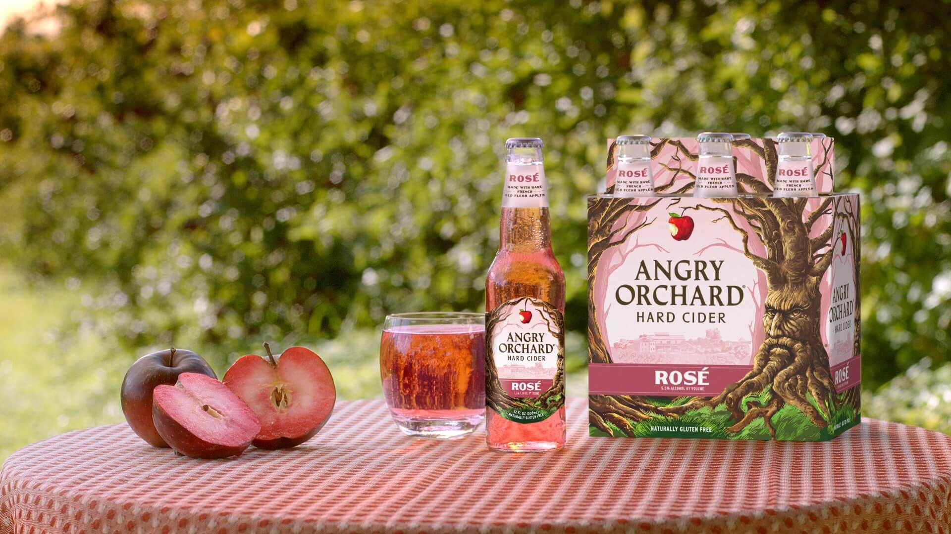 Move Over Ros 233 Wine Angry Orchard Ros 233 Hard Cider Is