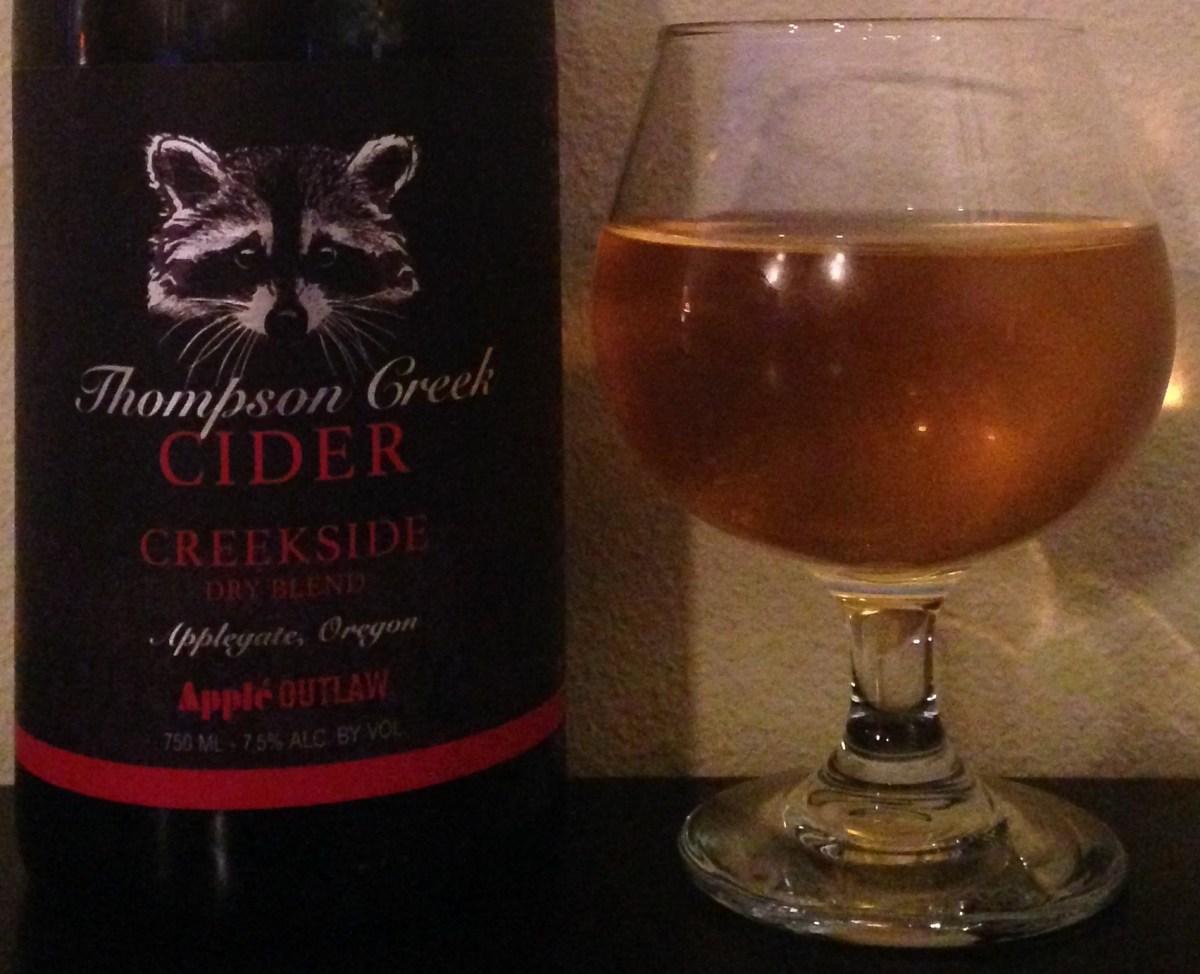 Apple Outlaw Thompson Creek Creekside Cider