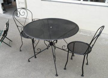 Fabriquer Une Table De Jardin En Fer