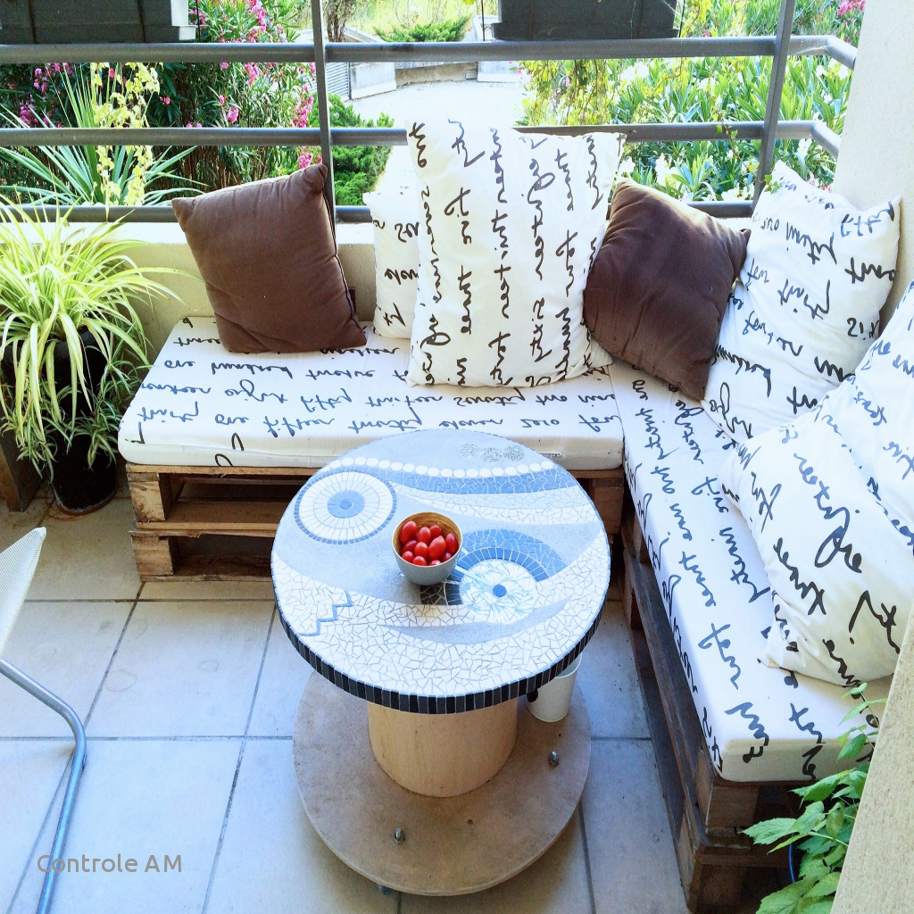Bricolage Salon De Jardin Palette   Palette En Bois Deco Jardin