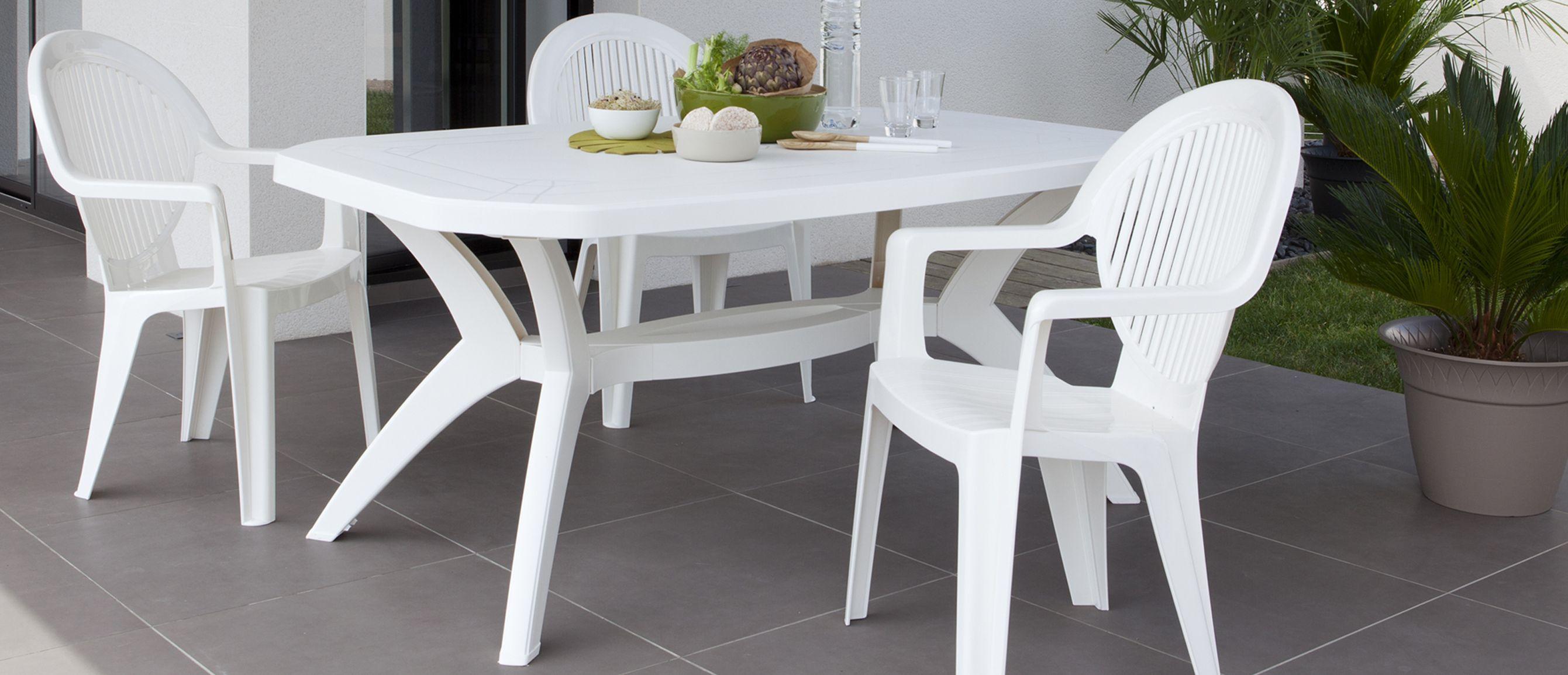 Comment Nettoyer Des Fauteuils De Jardin En Plastique Blanc