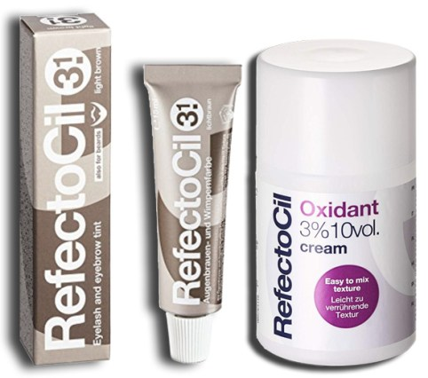 refectocil develop and dye