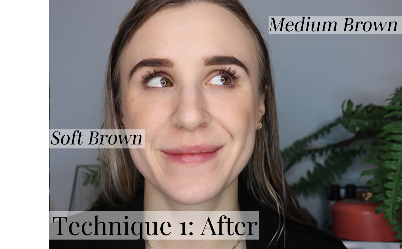 ABH Dip Brow Technique 1 After