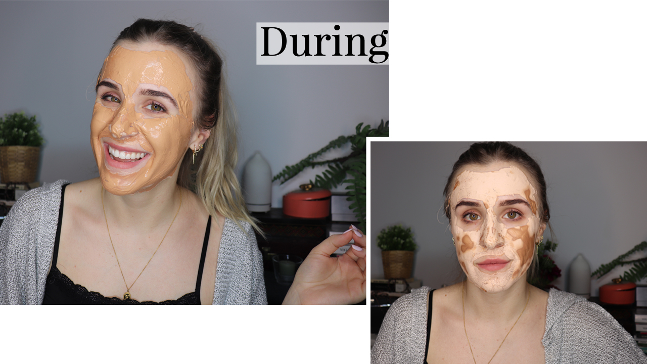 Arbonne mask during images