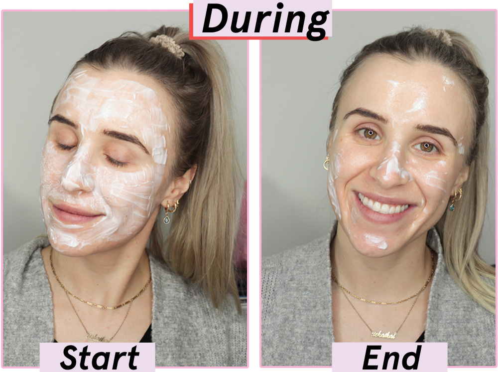 Glossier Moon Mask During