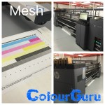 HP latex 3100 mesh calibration