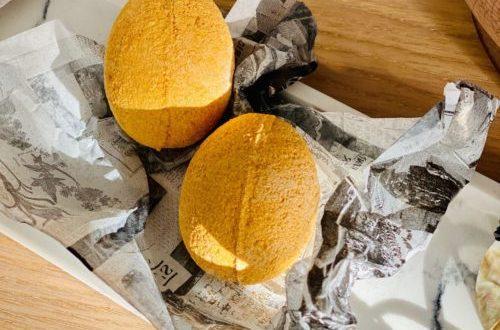 Bombes de bain Golden Egg