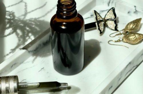 DIY cosmétique Huile Détox au Charbon Actif