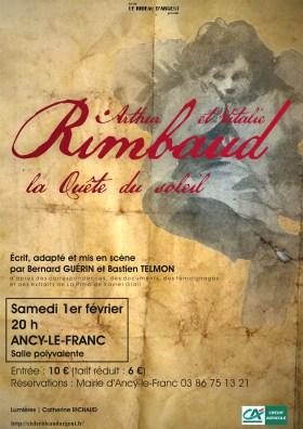 Théâtre Rimbaud affiche Ancy-le-Franc