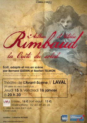 Théâtre Rimbaud affiche Laval