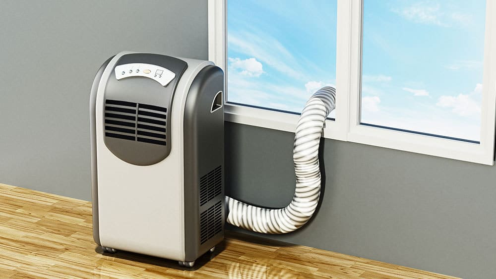 Working of portable heat pumps.