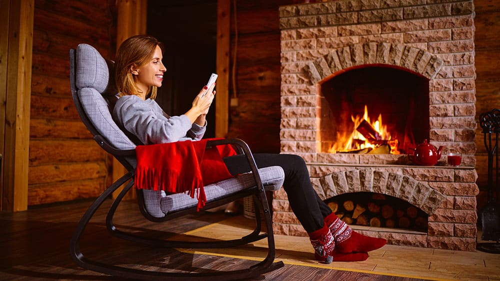 smart heating fireplaces
