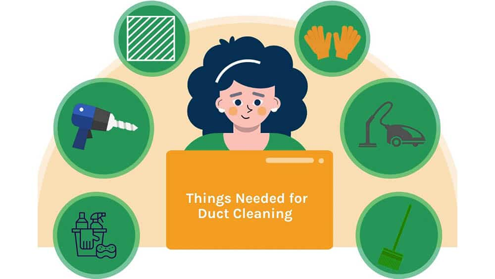What things do you need for AC duct cleaning?