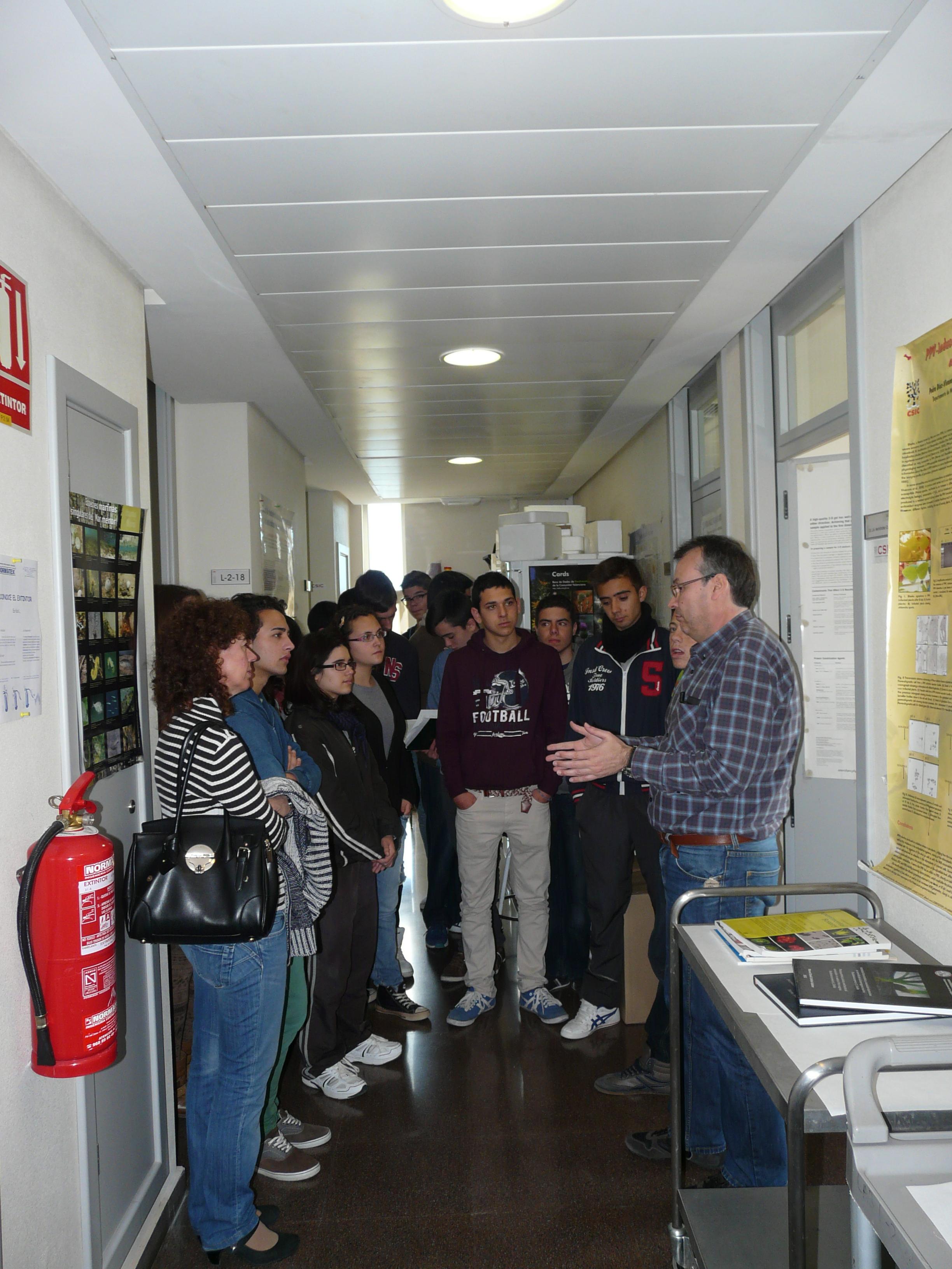 Jornadas De Puerta Abiertas Visita Del Ies De Abanilla Al Cebas